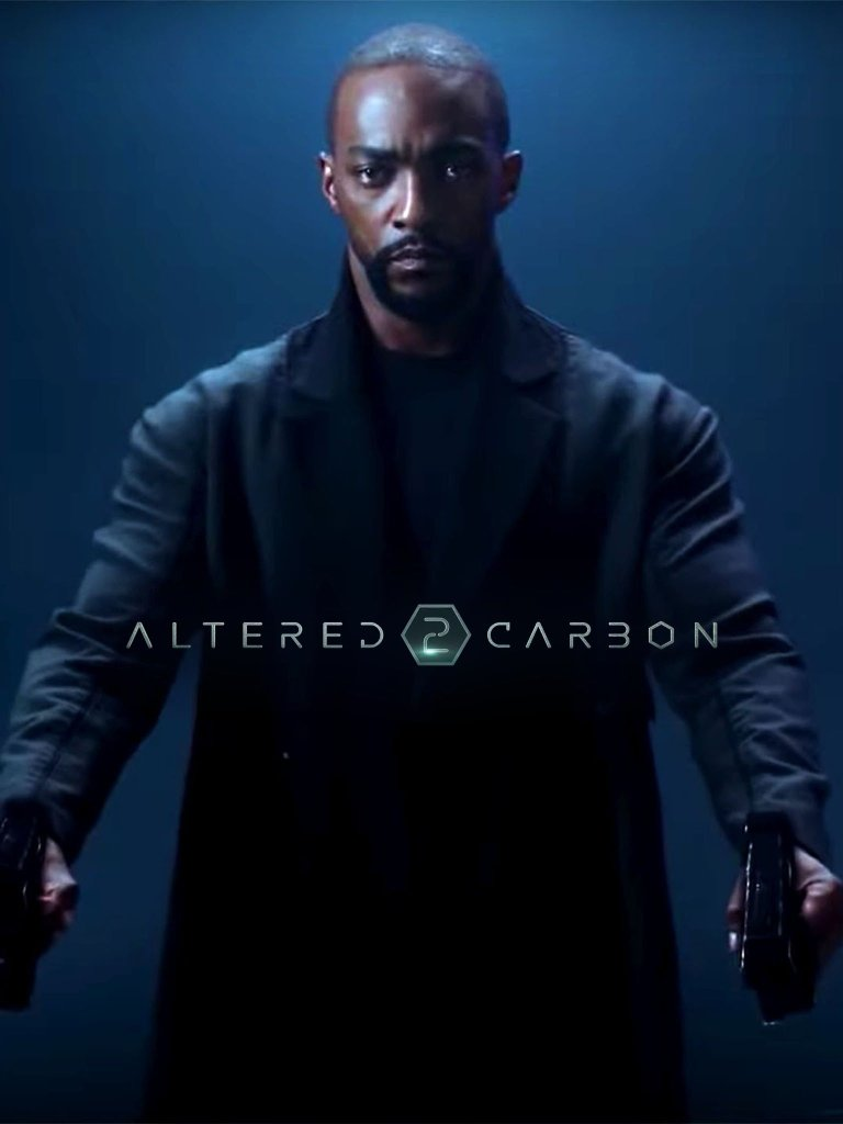 Anthony Mackie in Netflix's Altered Carbon via Facebook